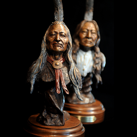 Chief Washakie and Warrior Siyeh